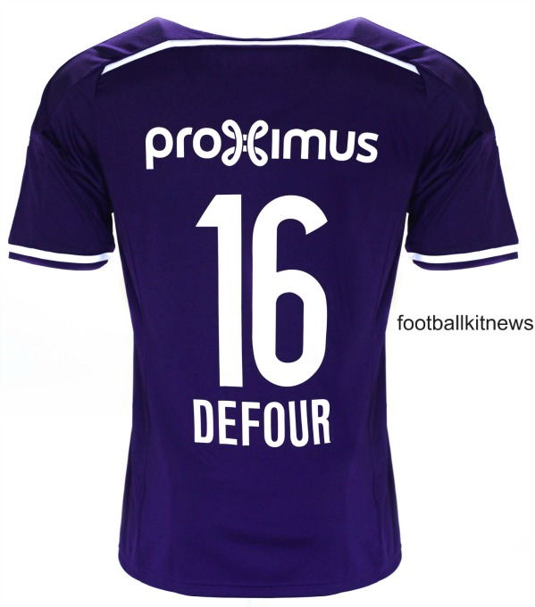 Anderlecht Home Kit 16 17 Back