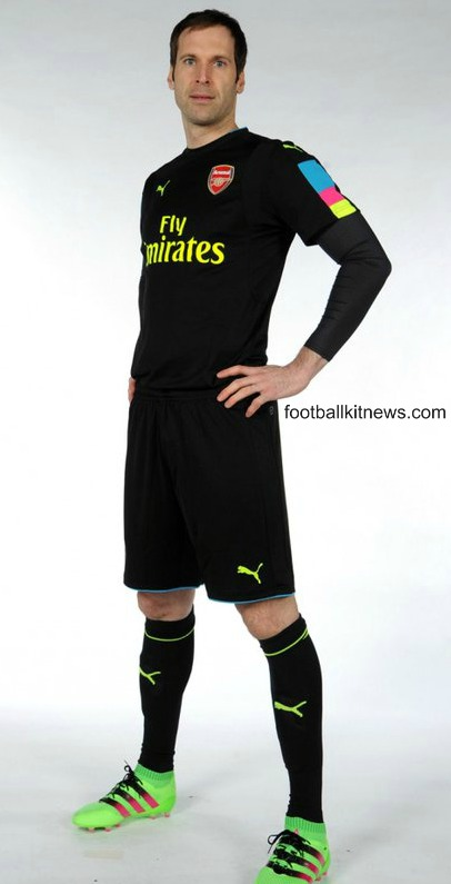Arsenal Goalkeeper Shirt 16 17