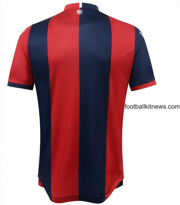Back of Bologna Home Shirt