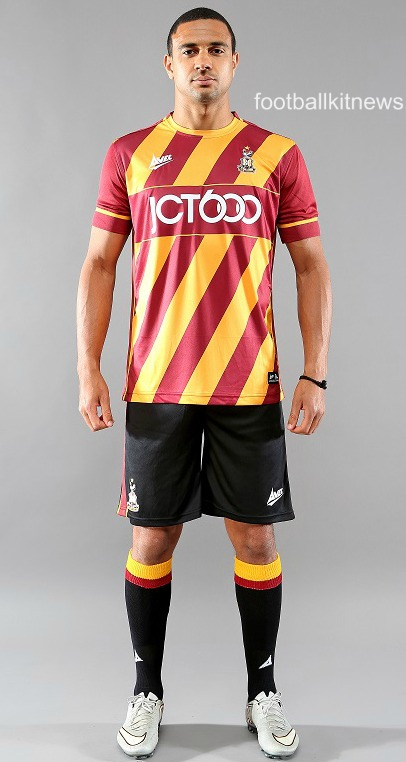 Bradford City Home Kit 16 17