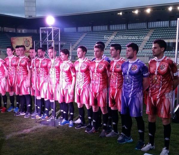 CD Palencia Jersey 16 17