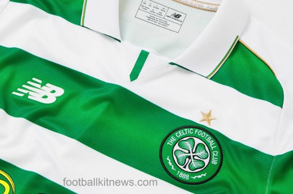 New Celtic Strip 2016-17- Glasgow Celtic Home Kit 2016-2017 by New Balance