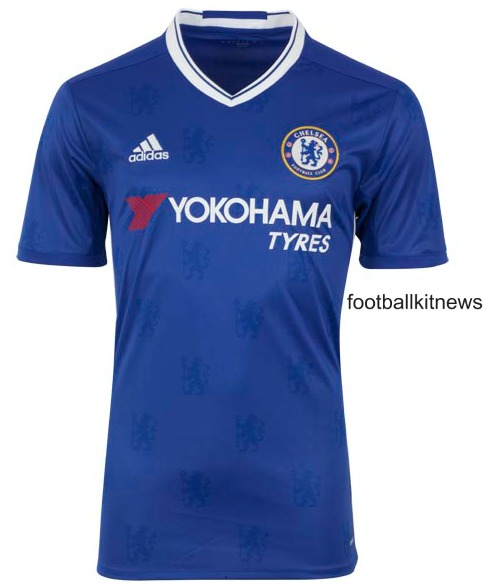 New Chelsea Home Jersey 2016-17- Adidas CFC Kit 16-17 Revealed
