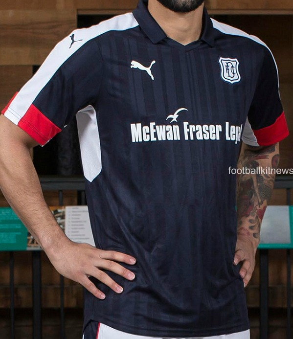 Dundee FC Home Top 16 17
