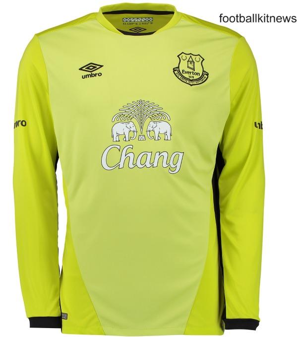 Everton Goalkeeper Kit 2016 17