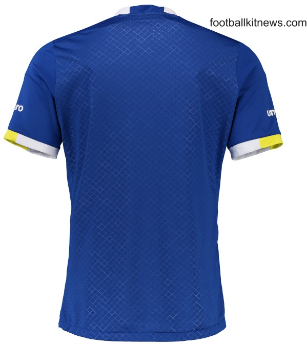 Everton Home Jersey 2016 2017 Back