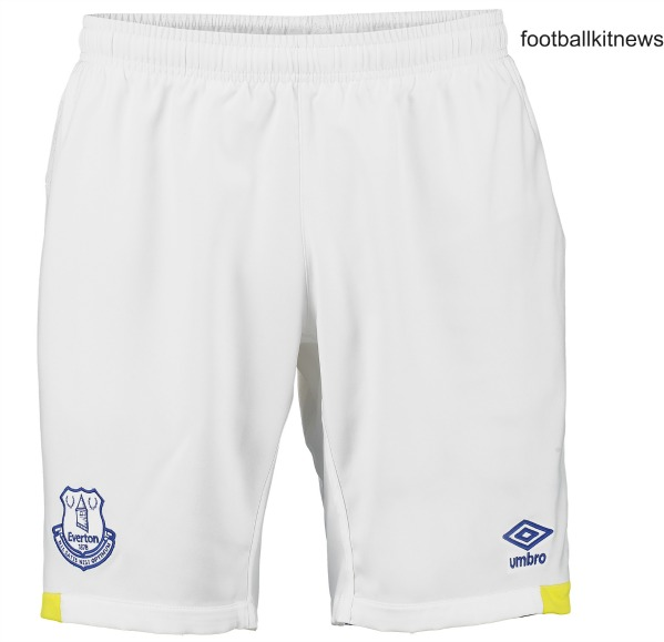Everton Home Shorts 2016 17