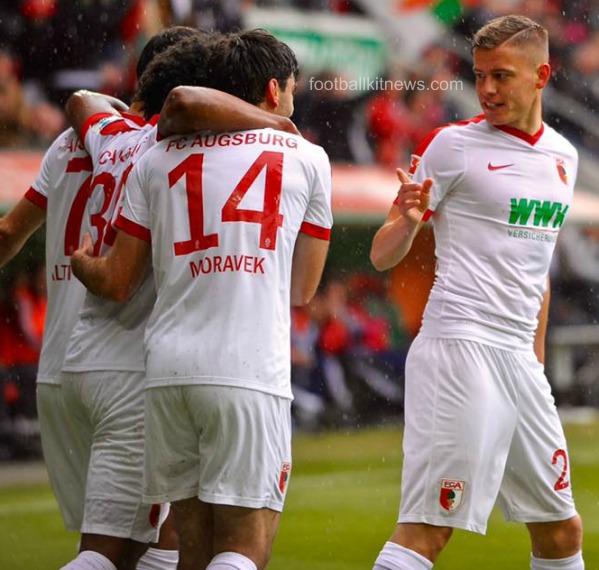 FC Augsburg Home Kit 16 17