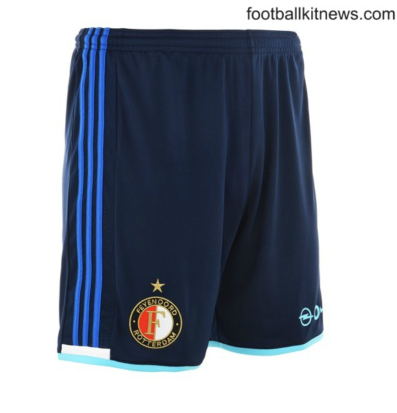 Feyenoord Away Shorts 2016 17
