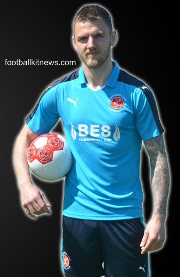 Fleetwood Town Away Kit 2016 2017