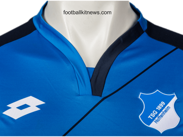 Hoffenheim Home Shirt 16 17 Closeup