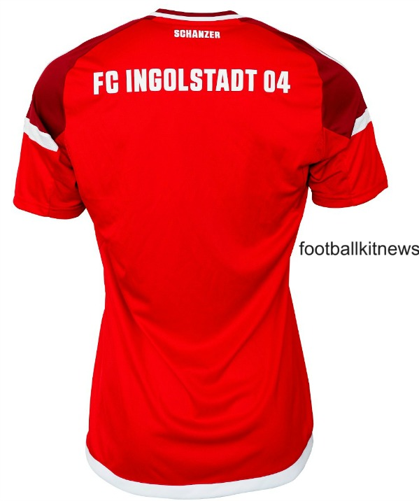 Ingolstadt Home Kit 2016 17 Back