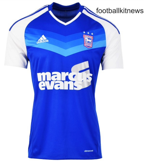 New Ipswich Town Kits 2016-17 | ITFC Home & Away Shirts 16/17 by Adidas