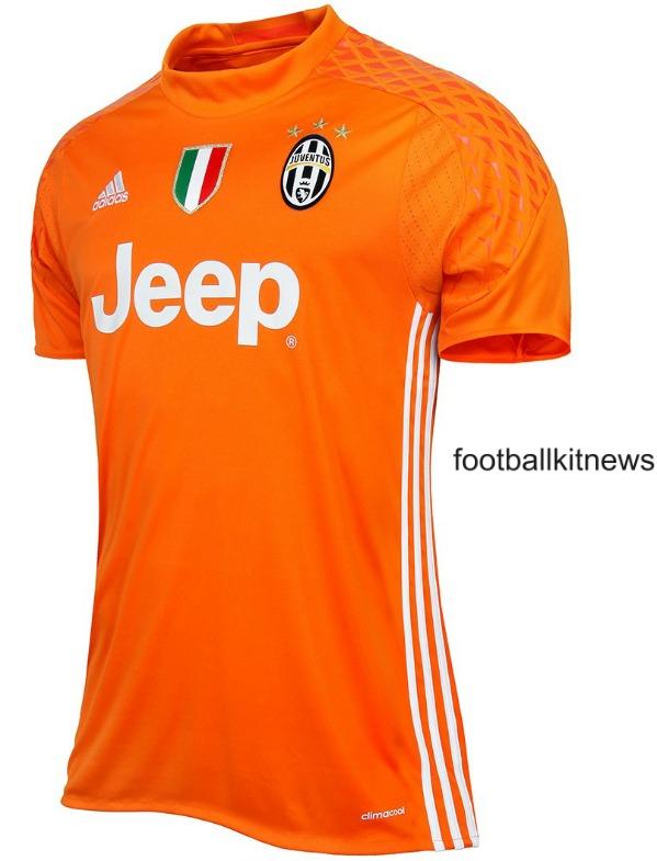 Juventus Goalkeeper Jersey 2016 17