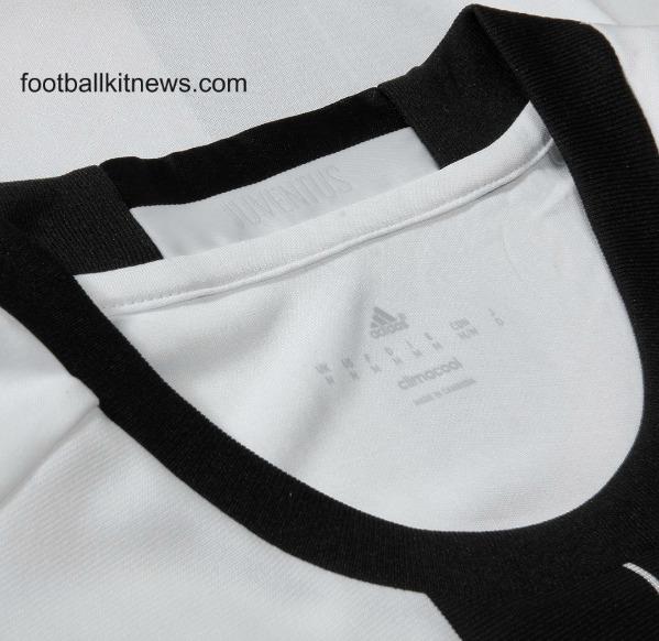 Juventus Home Shirt 16 17 Closeup
