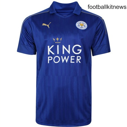 New Leicester City Jersey Enam Tujuh Puma Lcfc Home Kit