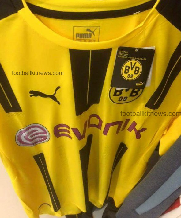 Leaked Borussia Dortmund Home Kit 2016-2017 by Puma