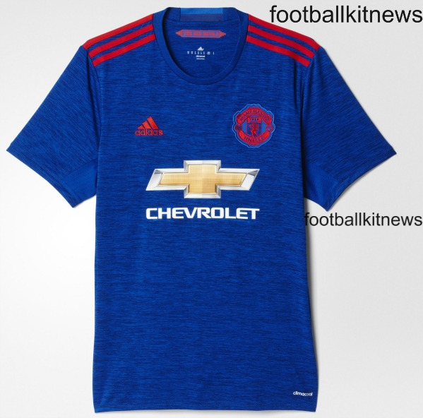 Leaked- Manchester United to have blue away kit in 2016/17
