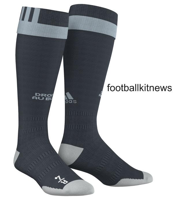Marseille Away Socks 16 17