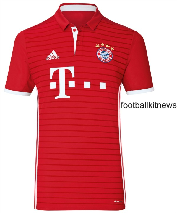 New Bayern Kit 2016 17