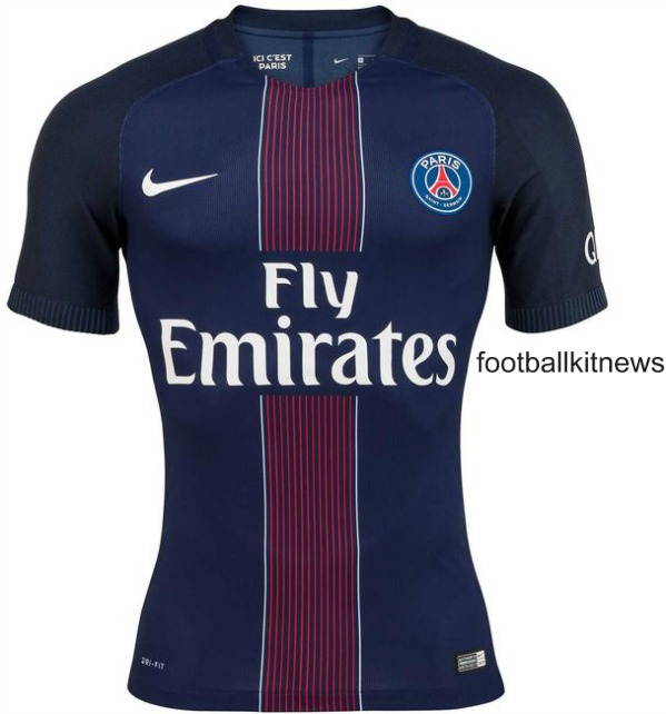 New PSG Kit 2016 17
