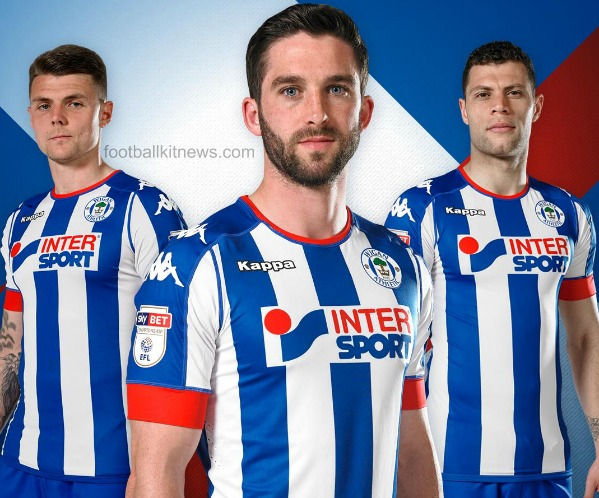New Wigan Athletic Kit 2016 17