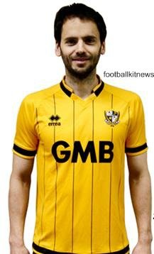 Port Vale Away Jersey 16 17