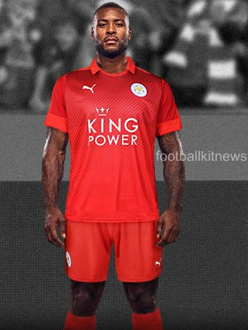 Red Leicester City Shirt 2016 2017