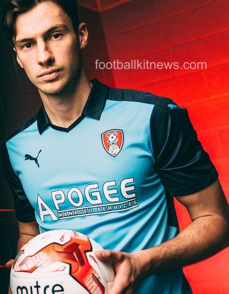 Rotherham United Away Shirt 2016 17