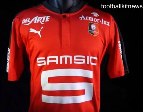 New Rennes Kit 2016/17- SRFC Puma Home Jersey 16-17