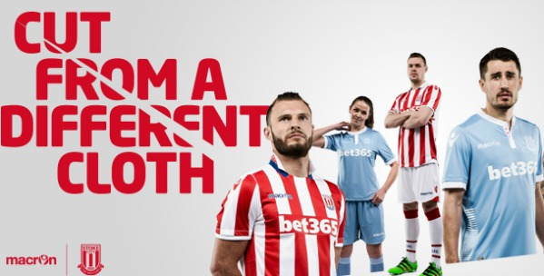 New Stoke City Kits 2016/17- SCFC Macron Home & Away Shirts 16-17
