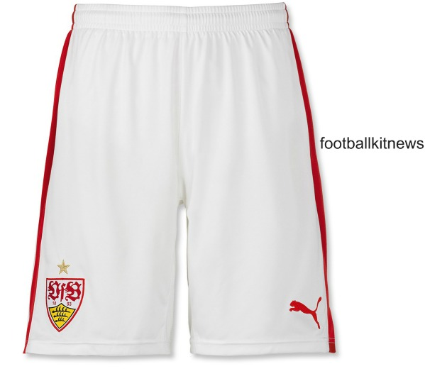 Stuttgart Home Shorts 2016 17
