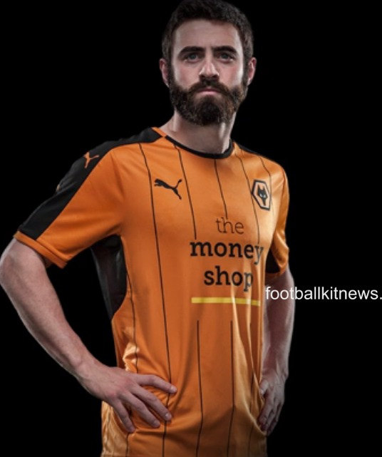 New Wolves Kit 16-17 | Wolverhampton Wanderers Puma Home Shirt 2016-17