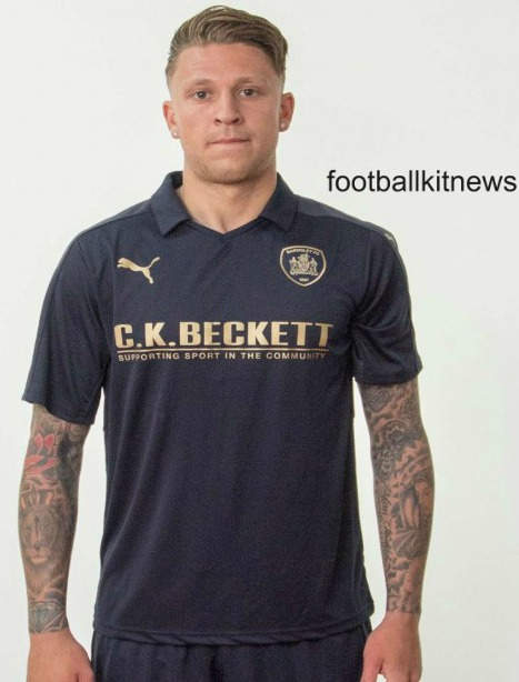 Barnsley Away Kit 2016 17