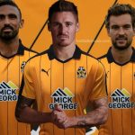 New Cambridge United Kit 2016/17- CUFC Puma Home Shirt 16-17