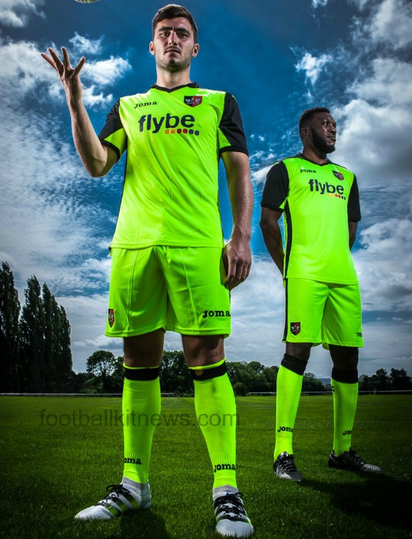 Exeter City Away Kit 2016 17