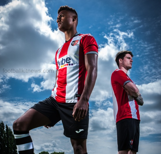 Exeter City Home Kit 2016 17