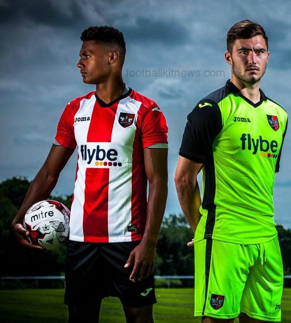 Joma Exeter City Shirt 2016 2017