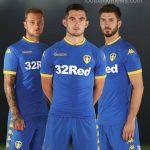 New Leeds United Away Kit 16-17 | Blue LUFC Shirt 2016-17 by Kappa