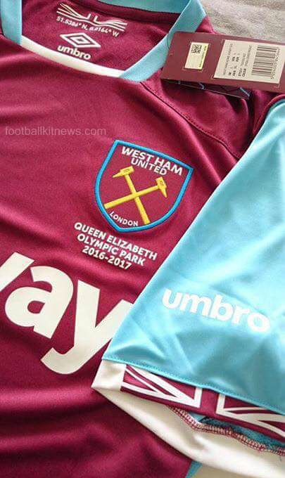 Leaked West Ham Home Shirt 16 17