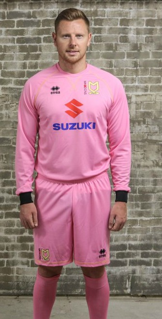 MK Dons Third Goalkeeper Shirt 2016 2017