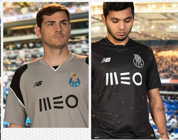 NB Porto Away Kit 16 17