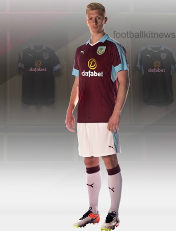 New Burnley Kit 16 17