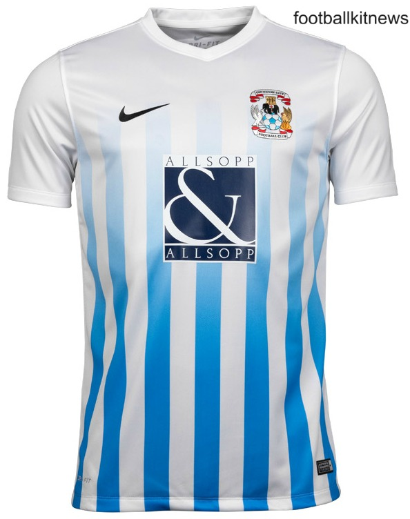 New Coventry City Home Kit 16 17