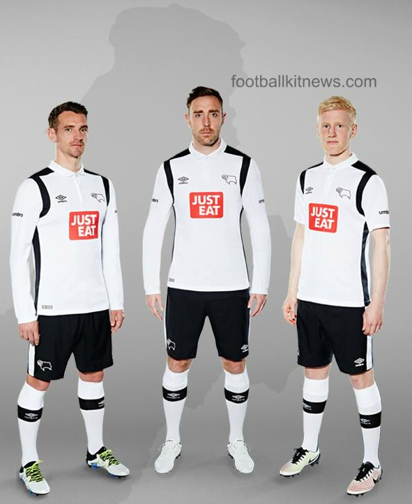 New Derby County Home Shirt 16 17