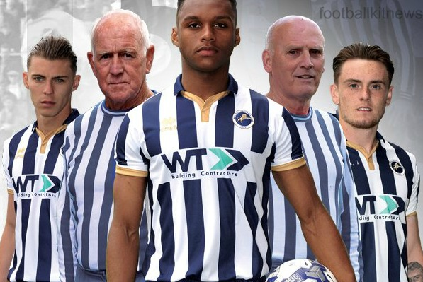 New Millwall Home Kit 16 17