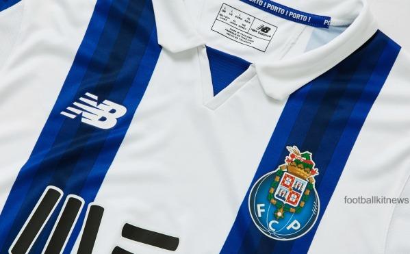Porto Home Shirt 16 17 Closeup