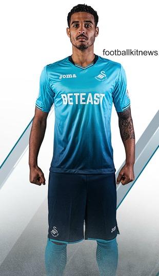 Swansea Away Kit 2016 2017