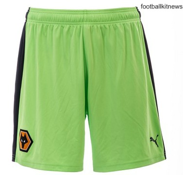 Wolves Away Shorts 16 17