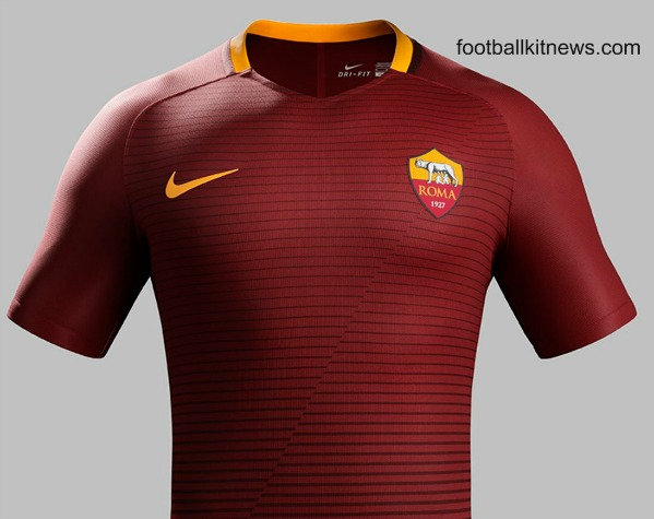 AS Roma Home Jersey 16 17